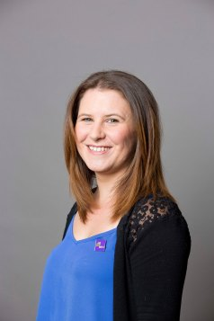 Photo of Amy Woolf, CEO of MS-UK