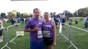 Picture of Mark at Ealing Half Marathon