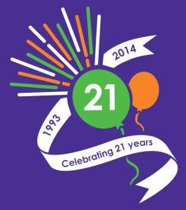 MS-UK 21 Years Logo